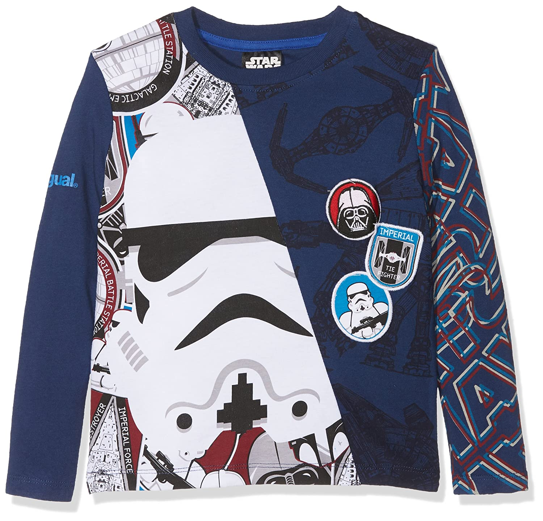 Desigual Boy's Ts_janitz Long Sleeve T-Shirt 57T36F8