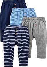 Simple Joys por Carter 's Baby Boys' 4-Pack Pant