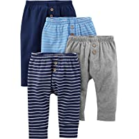 4436ed0f3 Simple Joys by Carter's Baby Boys' 4-Pack Pant
