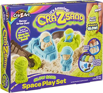 MOULD AND PLAY CRAZART CRAZSAND SUPER SAND FUN TUB NEW