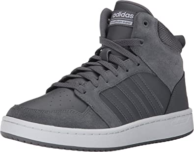 Adidas Men's CF Super Hoops MID Basketball Shoe, Grey Four