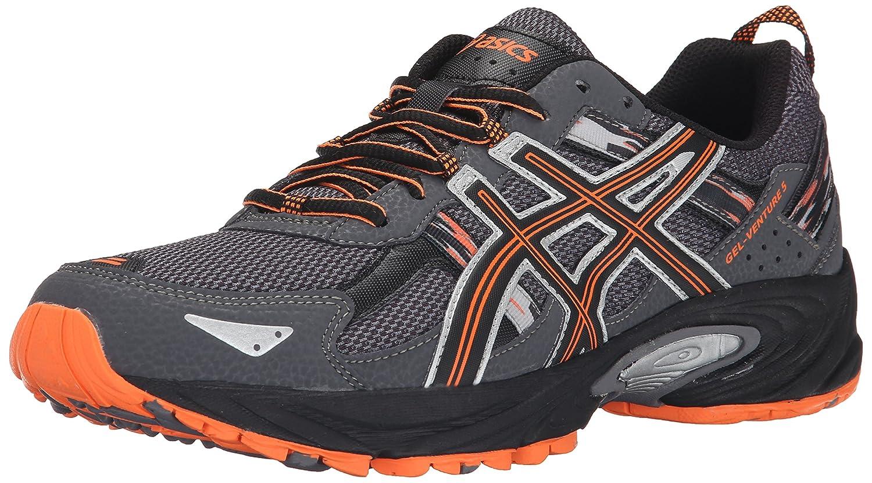 Kol   svart   Hot orange ASICS herrar herrar herrar Gel Venture 5 springaning skor  på billigt