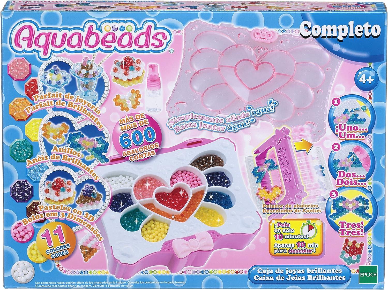 Aquabeads - 32799 - Caja de Joyas Brillantes: Amazon.es: Juguetes y juegos