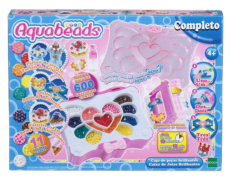 Aquabeads Caja de Joyas Brillantes (Epoch para Imaginar 32799)