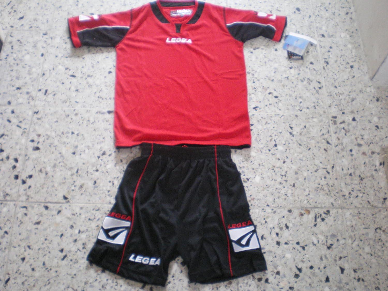 Legea Kit viento completo body Training Fútbol Futbolín Torneo Sport, rojo/negro: Amazon.es: Deportes y aire libre