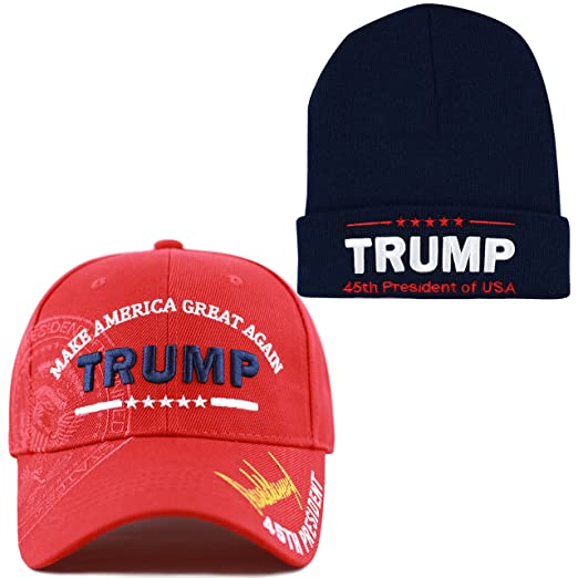 9efa541d4d7 THE HAT DEPOT Exclusive 45th President Make America Great Again President  Seal Signature Cap
