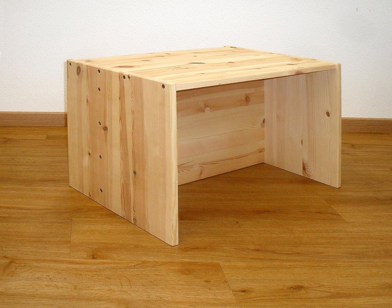 mitwachsender Kindertisch, in 3 Höhen, Tisch für KinderAnna Massivholz aus nachhaltiger Waldwirtschaft FSC zertifiziert, geölt, in Deutschland gefertigt. in 3 Höhen geölt silenta Produktions-GmbH