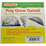 Bosmere L831 Poly Tunnel Plant Row Cover, 10-Feet, Green