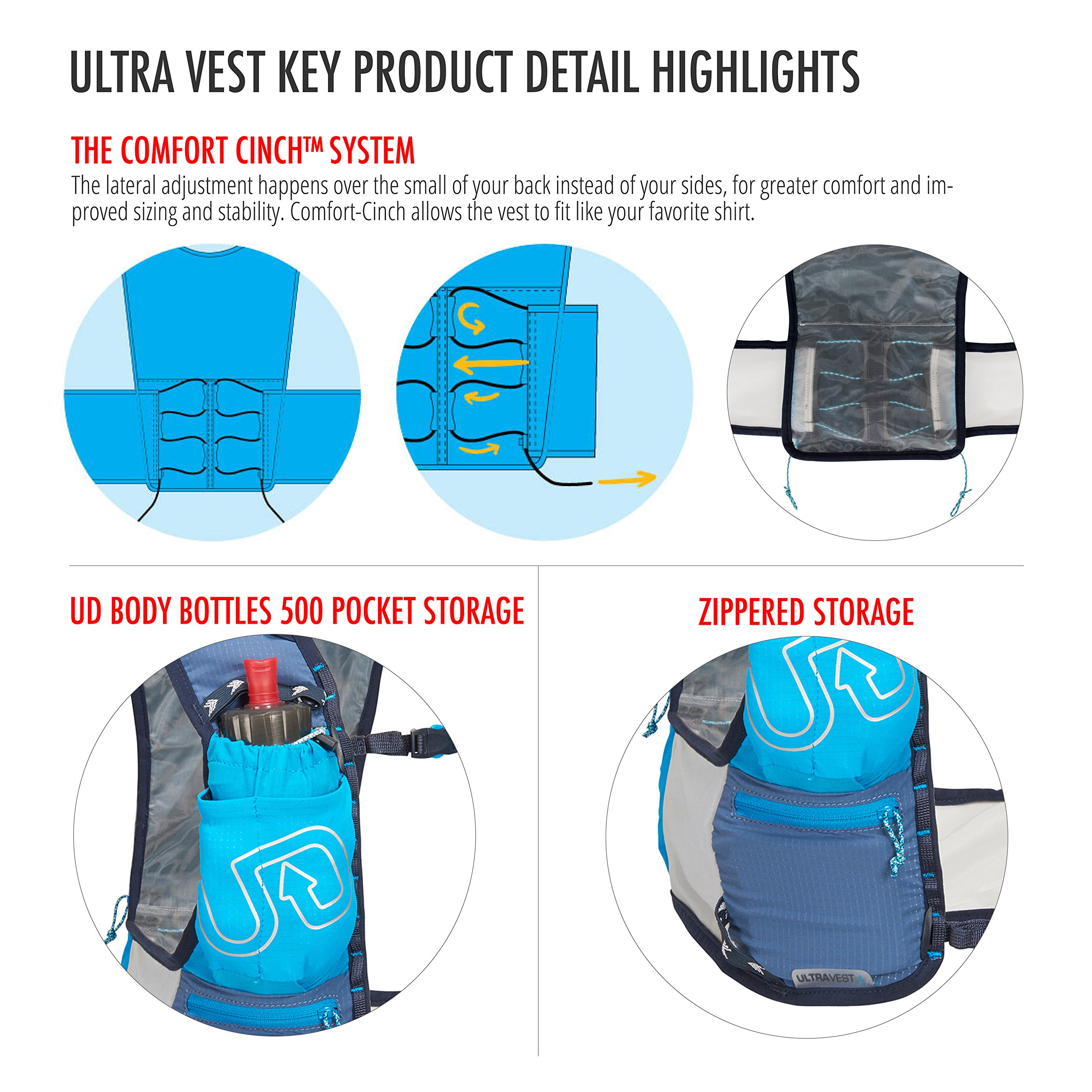 Ultimate Direction Ultra Vest 4.0, Signature Blue, Medium by Ultimate Direction (Image #5)