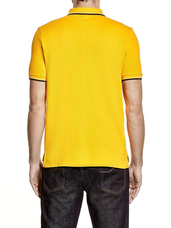 Automobili Lamborghini Hombre Mens Reduced Bull Polo Shirt Yellow ...