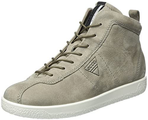 101a34a28f ECCO Women's Soft 1 Ladies Trainers, Grau (Warm Grey), 6 5 UK ...