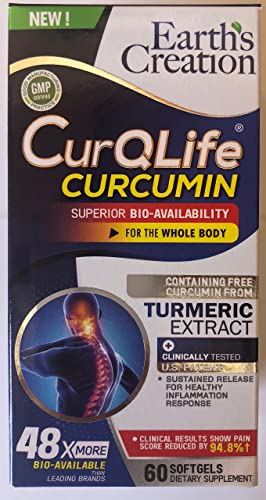 CurQLife – Water Based Organic Curcumin Turmeric Optimized for Joint Health