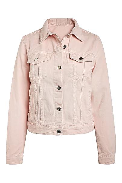 comprar oficial mejor selección disfruta el precio de liquidación next Mujer Chaqueta Vaquera Rosa EU 50 (UK 22): Amazon.es ...