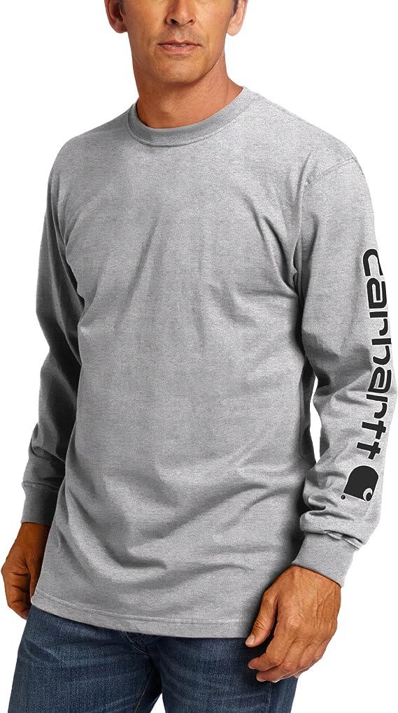 Carhartt Herren Core Logo T-Shirt Kurzarm Rundhals Tee