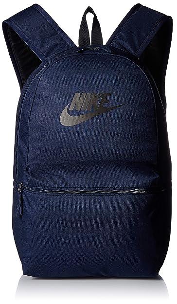Nike Mochila, One Size, Obsidian/Black/Black: Amazon.es: Zapatos y complementos
