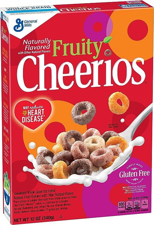 Fruity Cheerios Cereal, 12 Ounce (Pack of 6): Amazon.es: Alimentación y bebidas