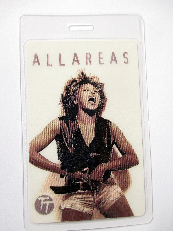 Tina Turner Laminated Backstage Pass All Access