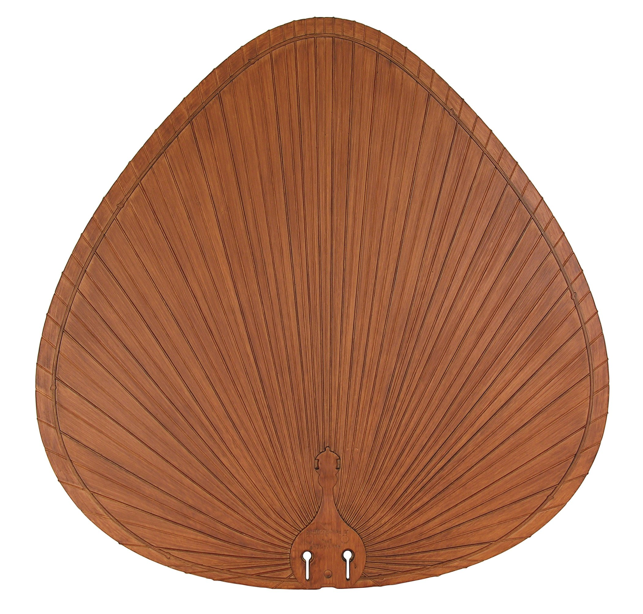Fanimation BPP1BR Wide Oval Composite Palm Blade, 22-Inch, Brown, Set of 5