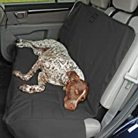 PetEgo Rear Seat Protector Durable Canvas Car Seat Cover