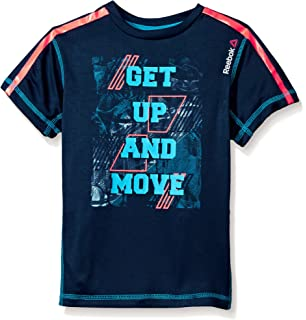 db25af907e15 Amazon.com  Reebok Boys Short Sleeve Gradient T-Shirt  Clothing