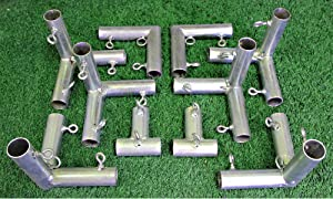 """Select DIY Golf Frame Corners for Practice Cages and Nets (10""""x10""""x10"""")"""