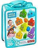 Mega Bloks Build and Learn Emotions Building Set