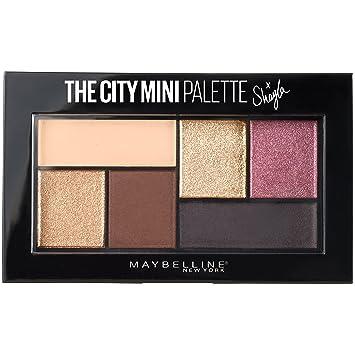 0237a9fcb53 Amazon.com : Maybelline Makeup The City Mini Eyeshadow Palette X Shayla,  Shayla Eyeshadow Palette, 0.14 oz : Beauty