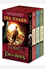 J.R.R. Tolkien 4-Book Boxed Set: The Hobbit and The Lord of the Rings Mass Market Paperback