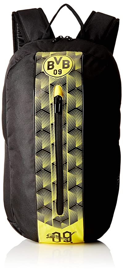 Amazon.com : Puma Bvb Fanwear Rucksack, Puma Black-Cyber Yellow, 50x33x2.5 cm : Sports & Outdoors