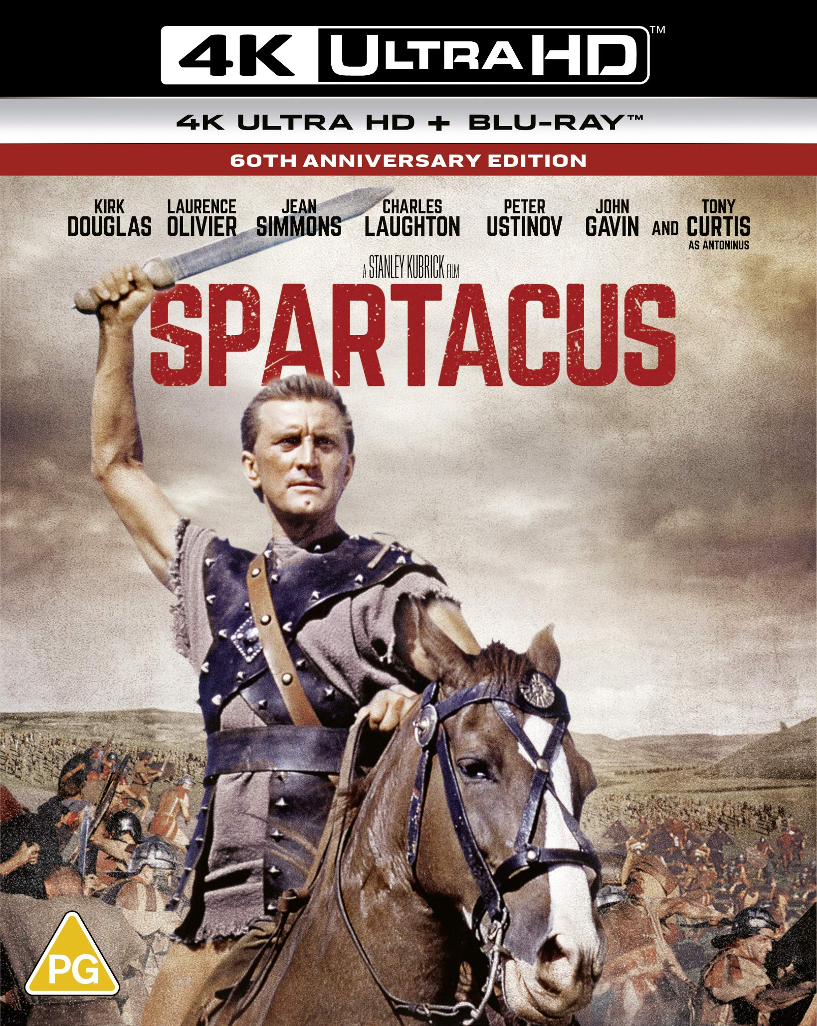 Spartacus 4K 60th Anniversary [Blu-ray] [2020]