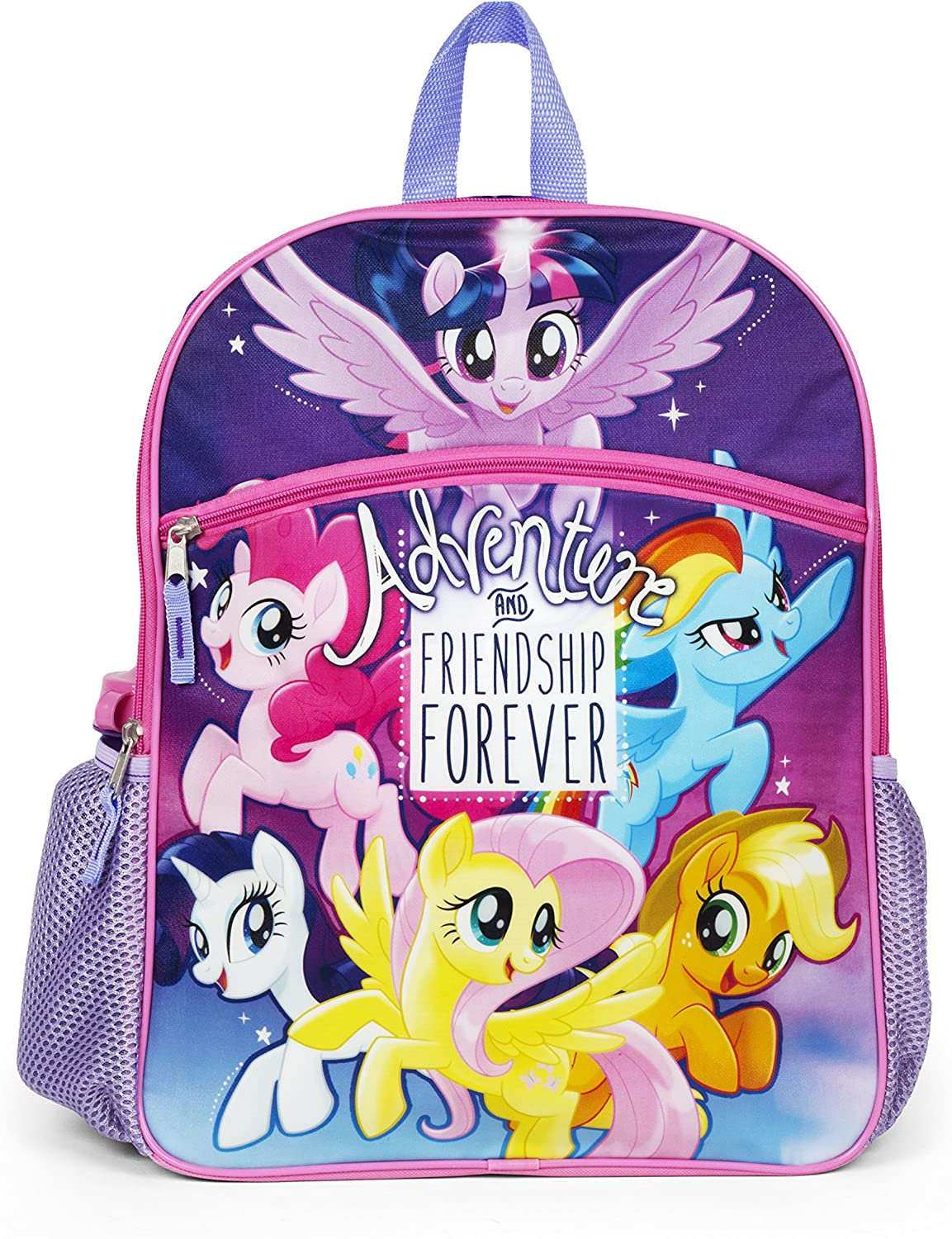 School Bags Essentials Set 16 in My Little Pony Backpack 5 Pc Set for Girls