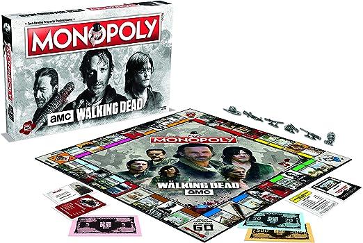 Monopoly The Walking Dead [GRA PLANSZOWA]: Amazon.es: Juguetes y juegos