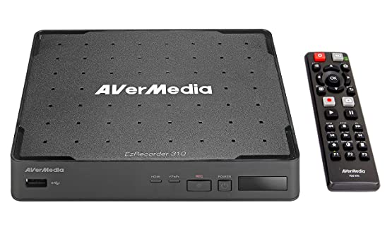 AVerMedia EZRecorder HD Video Capture High Definition HDMI Recorder PVR DVR Subscription Free Schedule Recording IR Blaster ER310 <span at amazon