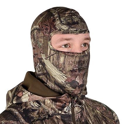 fc1b08a7a8d57 Amazon.com   Mossy Oak Hunting Accessories Stretch Form Full Face ...