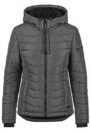 Blend SHE Nyla Damen Winter Jacke Steppjacke Winterjacke gefüttert mit  Kapuze, Größe XS, 2ce9136708