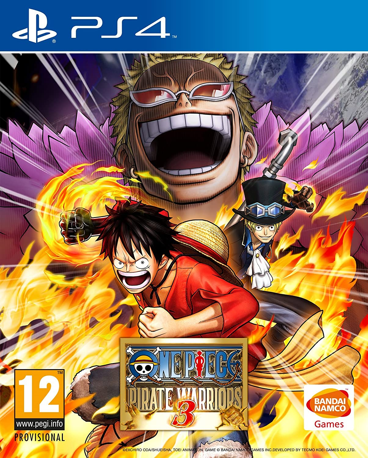 Amazon.com: One Piece Pirate Warriors 3 (PS4): playstation 3 ...
