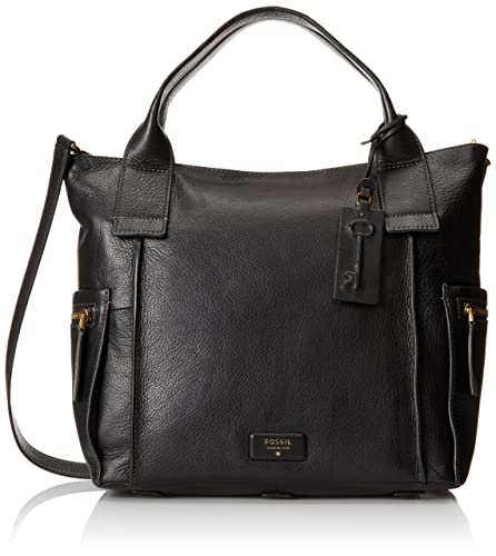 7dc92c3481 Fossil Emerson Women s Handbag (Black) (ZB6458001)  Amazon.in  Shoes    Handbags