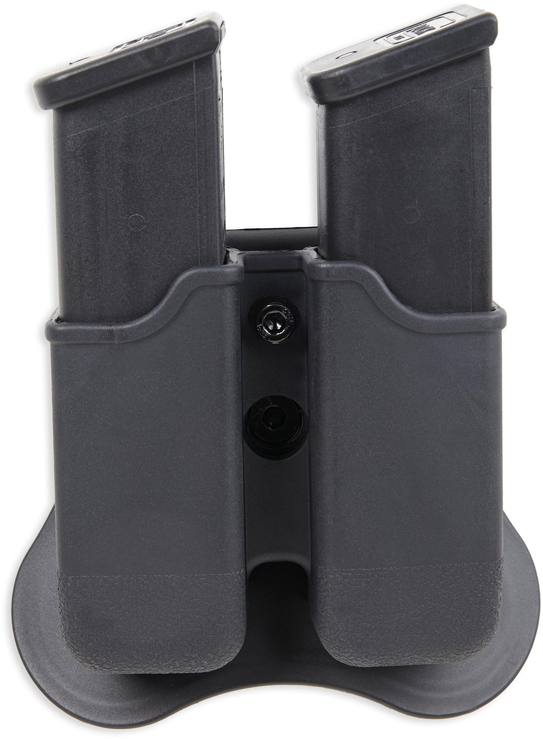 Bulldog Cases P-GM Polymer Magazine Holder, Black, Left/Right by Bulldog Cases (Image #4)