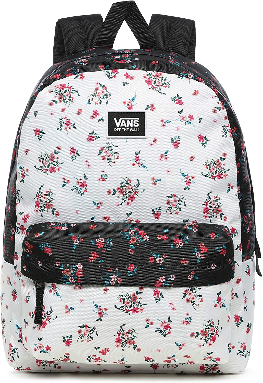 Vans Realm Classic - Mochila para mujer, diseño floral: Amazon.es: Equipaje