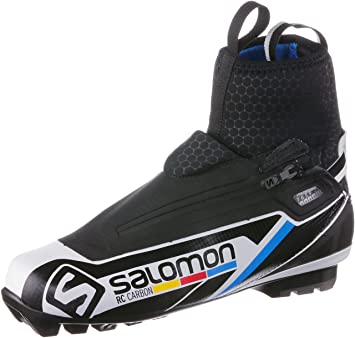 267e565b Salomon men's cross country ski boots RC carbon classic technique ...
