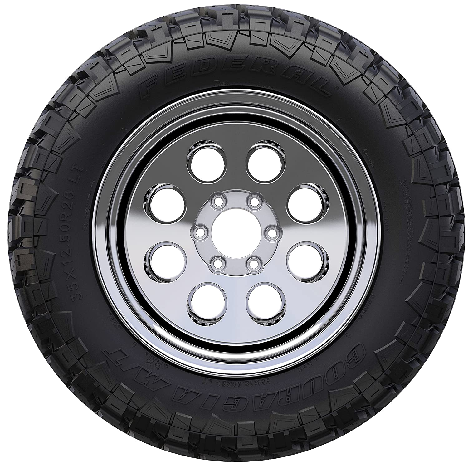 Federal Couragia M//T Performance Radial Tire-LT235//85R16 116Q