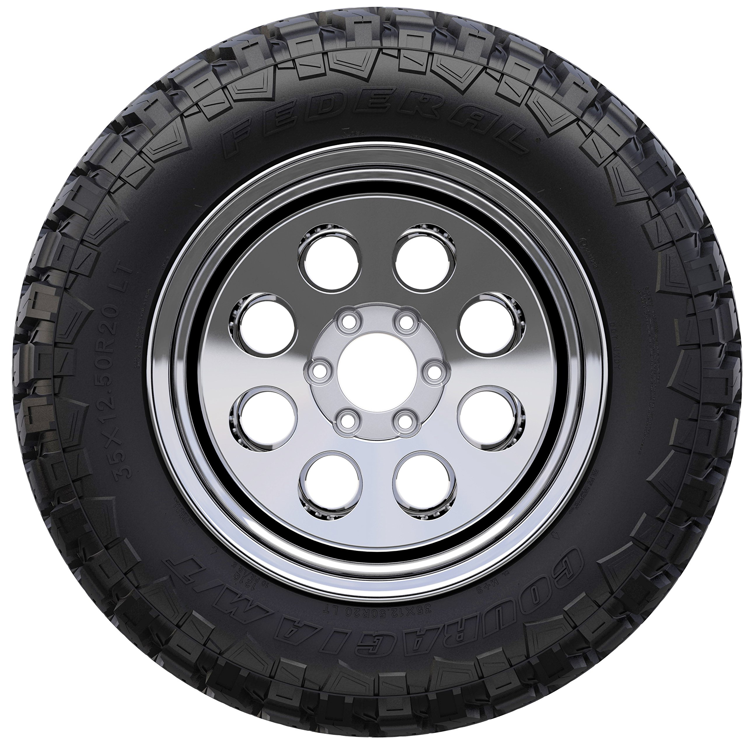 Federal Couragia M/T Mud-Terrain Radial Tire - 33x12.5R15 108Q by Federal (Image #3)