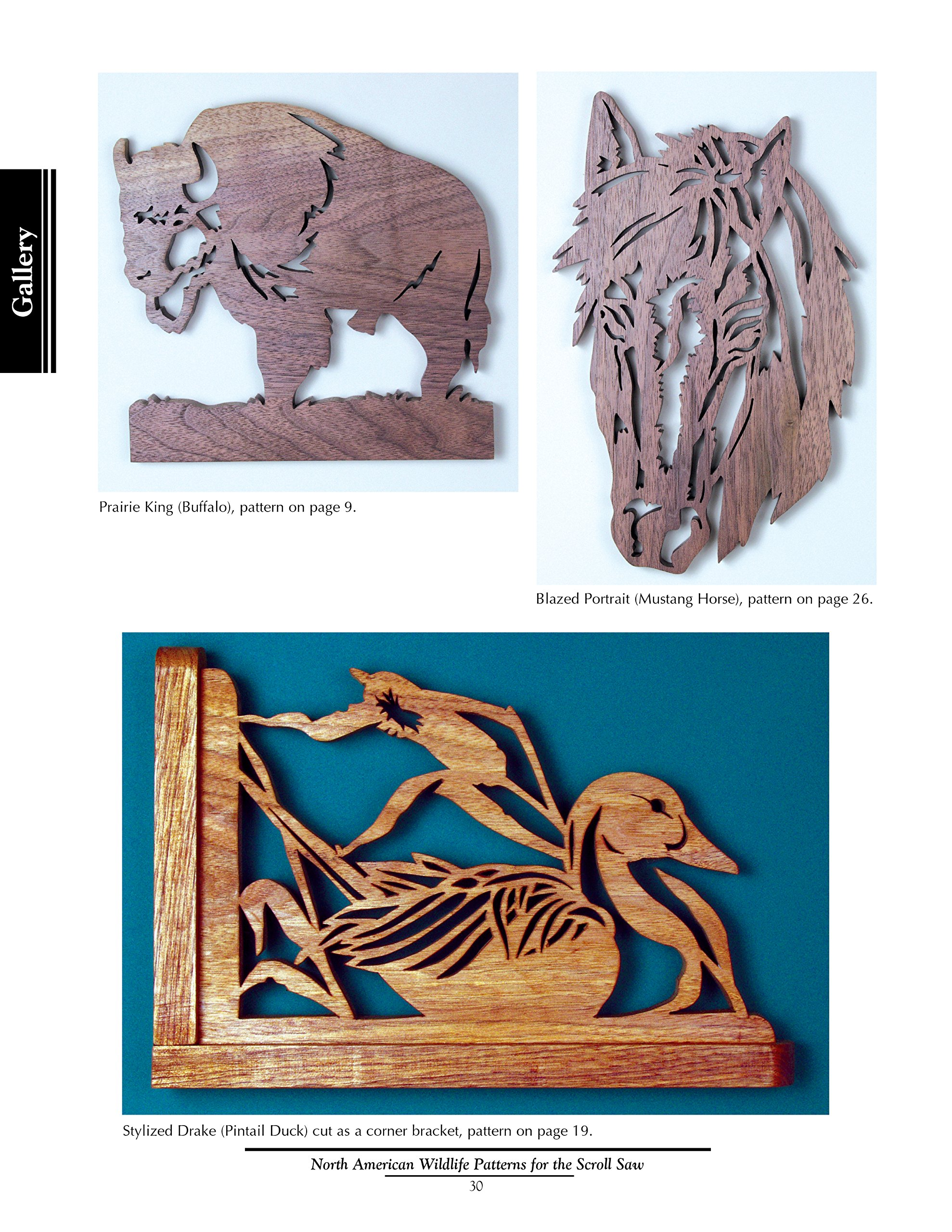 North american wildlife patterns for the scroll saw 61 captivating north american wildlife patterns for the scroll saw 61 captivating designs for moose bear eagles deer and more fox chapel publishing ready to cut fandeluxe Images