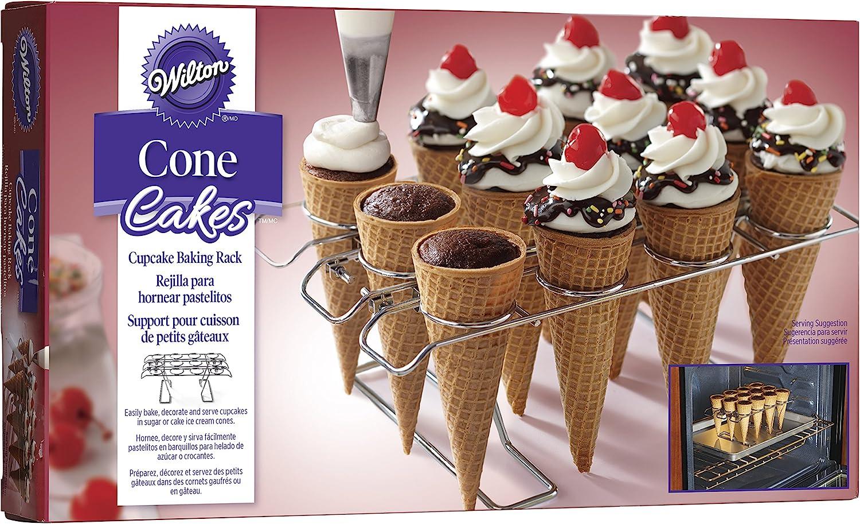 Cupcake Cone Baking Rack by Celebrate It 12 Cavity