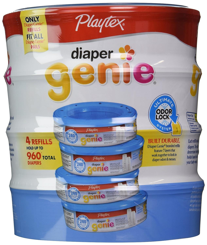 Playtex Diaper Genie Disposal System Refills, 4 Count 17