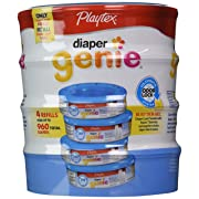 Playtex Diaper Genie Disposal System Refills, 960 count, 4 Pack