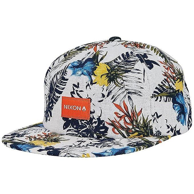 e260c9fb Nixon Tropics Snapback Hat Off White: Amazon.ca: Clothing & Accessories