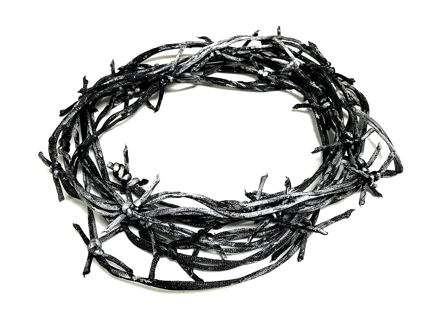 Amazon.com: NewRuleFX Actor-Safe Fake Prop Barbed Wire 12\' Length ...