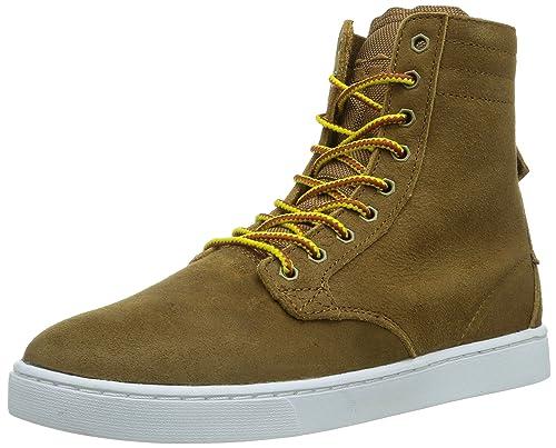 Supra Wolf, Zapatillas Hombre^Mujer, Braun (Brown-White Brn), 45 EU: Amazon.es: Zapatos y complementos