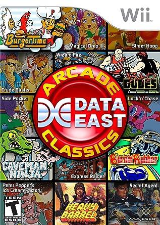 Data East Arcade Classics - Nintendo Wii by Majesco: Amazon ...